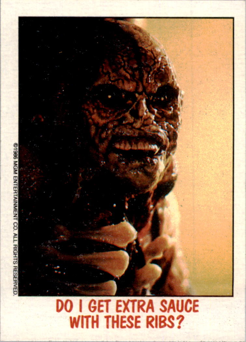 Fright Flicks 1988 - 14 - Poltergeist II - Do I Get Extra Sauce with These Ribs?
