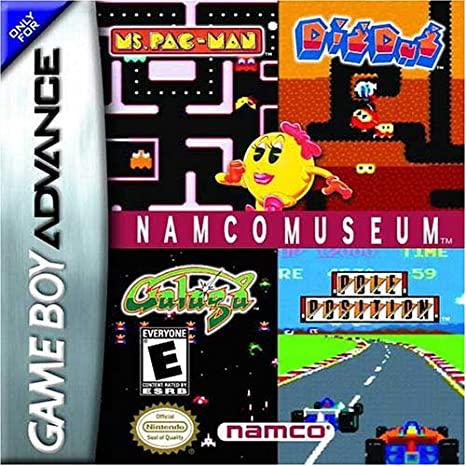 Namco Museum - Game Boy Advance - Loose