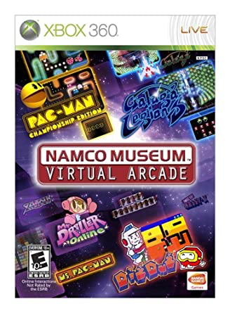 Namco Museum Virtual Arcade - Xbox 360 - in Case