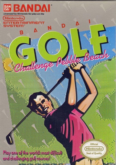 Bandai Golf  Challenge Pebble Beach - NES - Loose