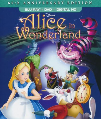 Alice in Wonderland - 65th Anniversary Edition - Blu-Ray