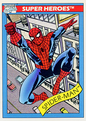Marvel Universe 1990 - 029 - Spider-Man