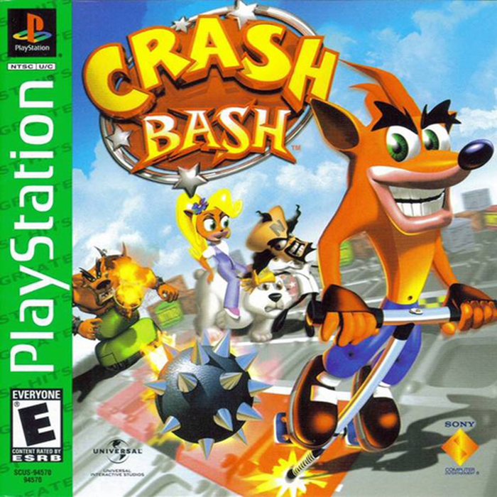 Crash Bash - Greatest Hits - Playstation 1 - Complete