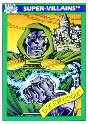 Marvel Universe 1990 - 060 - Doctor Doom
