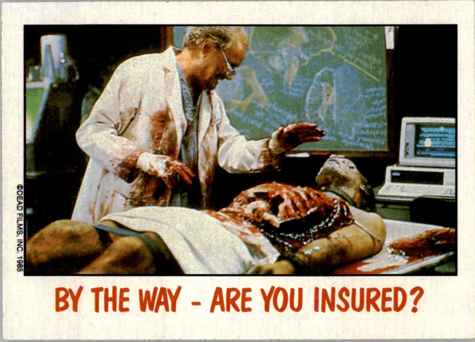 Fright Flicks 1988 - 42 - Day of the Dead - By the Way - Are You Insured?
