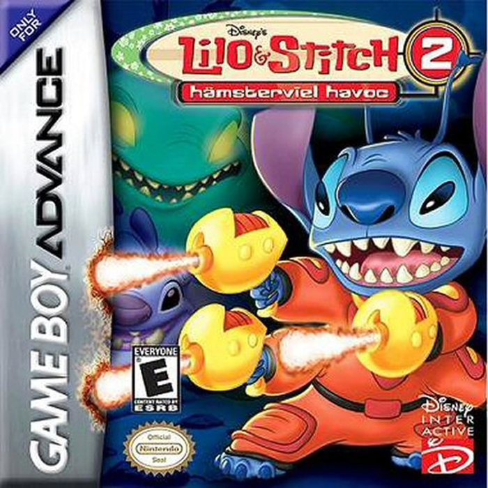 Lilo and Stitch 2  Hamsterviel Havoc - Game Boy Advance - Loose