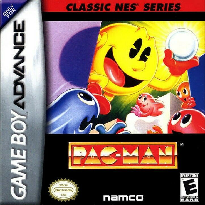 Pac-Man - Classic NES Series - Game Boy Advance - Loose
