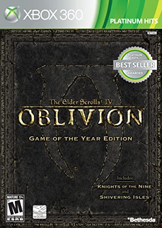 Oblivion - Elder Scrolls IV Game of the Year Edition - Xbox 360 - in Case