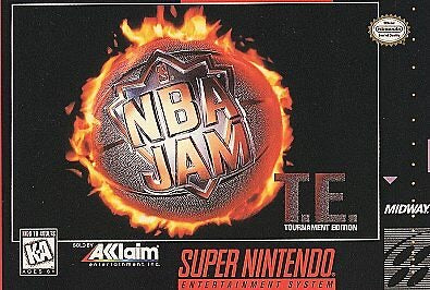 NBA Jam Tournament Edition - SNES - Loose