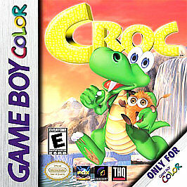 Croc - Game Boy Color - Loose