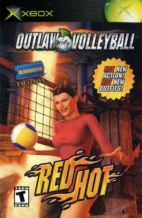 Outlaw Volleyball - Red Hot - Xbox - in Case