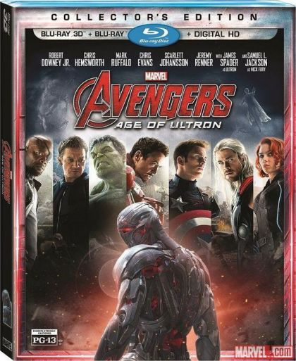 Avengers: Age of Ultron - Blu-Ray 3D