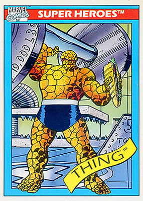 Marvel Universe 1990 - 006 - Thing
