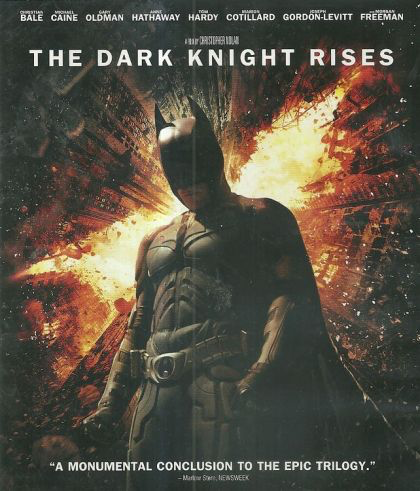 Dark Knight Rises - Blu-Ray