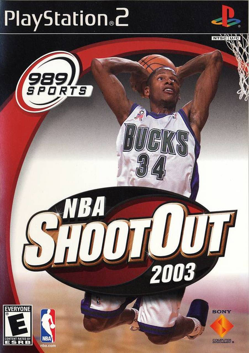 NBA Shootout 2003 - Playstation 2 - Complete