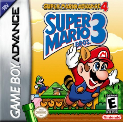 Super Mario Bros 3 - Super Mario Advance 4 - Game Boy Advance - Loose