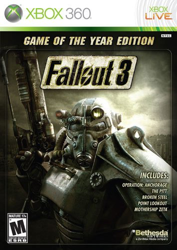 Fallout 3 - Game of the Year Edition - Xbox 360 - in Case