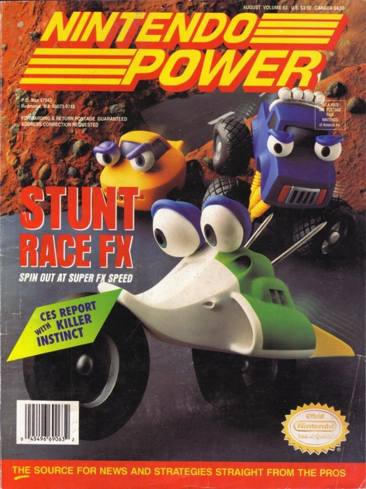 Nintendo Power - Issue 063 - Stunt FX Racing