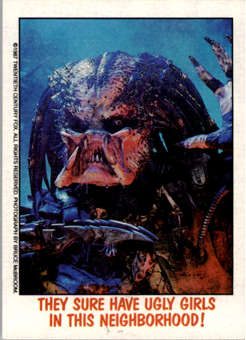 Fright Flicks 1988 - 38 - Predator - They Sure Have Ugly Girls in This Neighborhood!