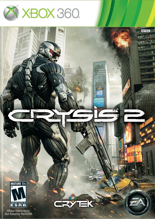 Crysis 2 - Xbox 360 - in Case