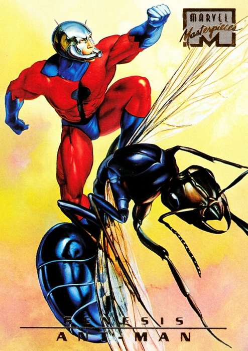 Marvel Masterpieces 1996 - 88 - Ant Man