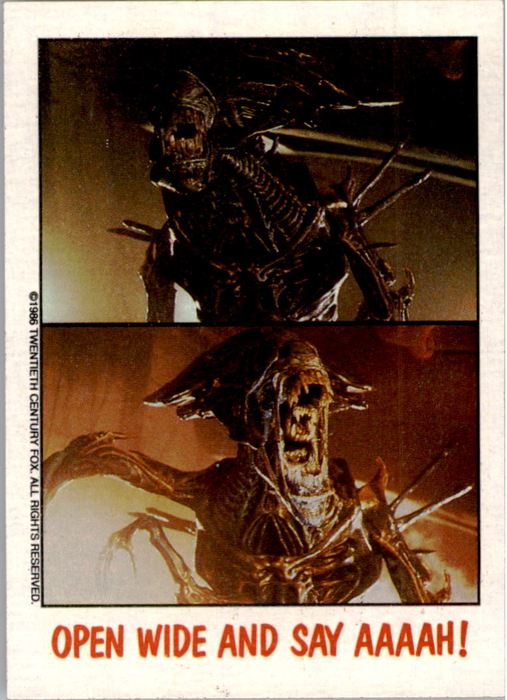 Fright Flicks 1988 - 11 - Aliens - Open Wide And Say Aaah!
