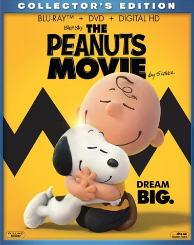 Peanuts Movie - Blu-Ray