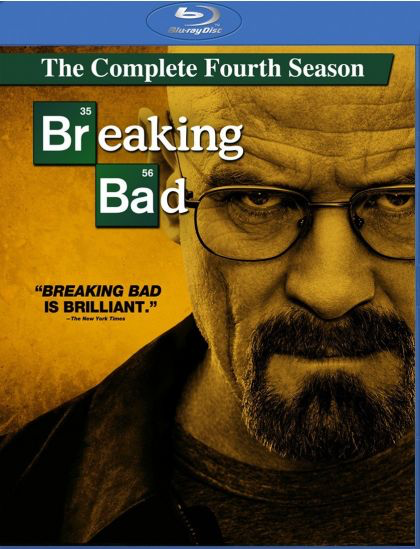 Breaking Bad: Season 4 - Blu-Ray