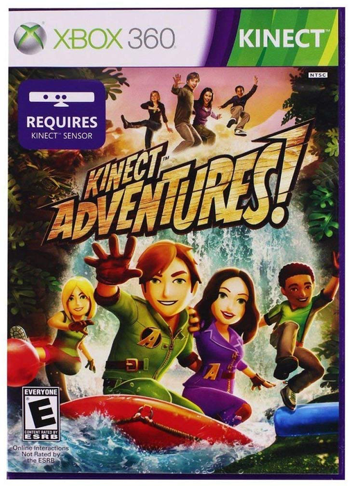 Kinect Adventures - Xbox 360 - in Case