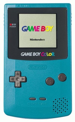 Game Boy Color System - Teal