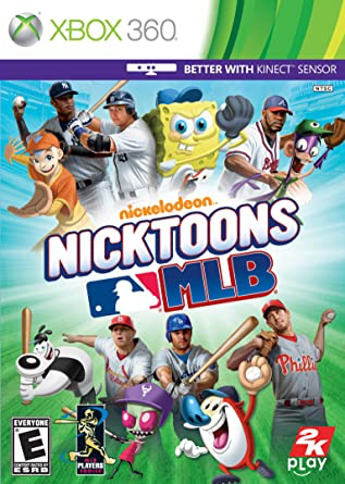 Nicktoons MLB - Xbox 360 - in Case