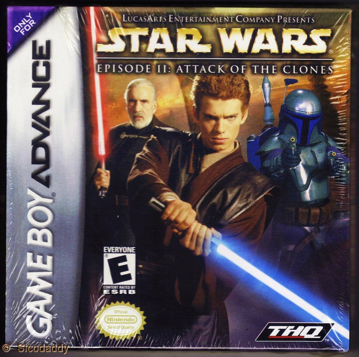 Star Wars - Episode II - Attack of the Clones - Game Boy Advance - Loose