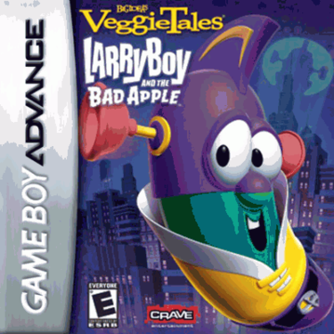 Veggietales - Larry Boy and the Bad Apple - Game Boy Advance - Loose