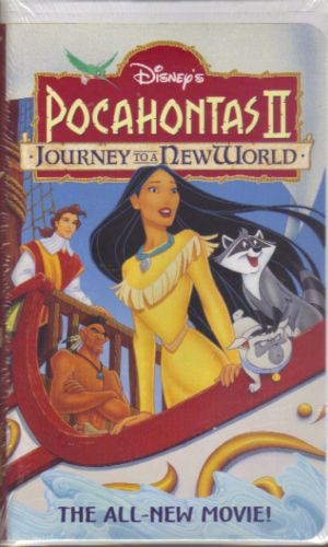 Pocahontas 2: Journey to a New World - VHS