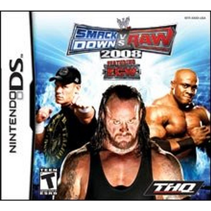 WWE Smackdown vs Raw 2008 - DS - Loose