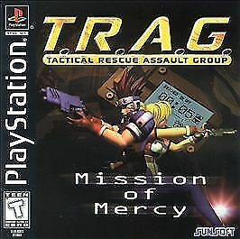TRAG - Tactical Rescue Assault Group - Playstation 1 - Complete