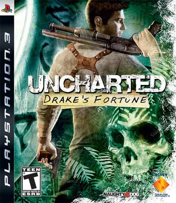 Uncharted  - Drake's Fortune - Playstation 3 - in Case