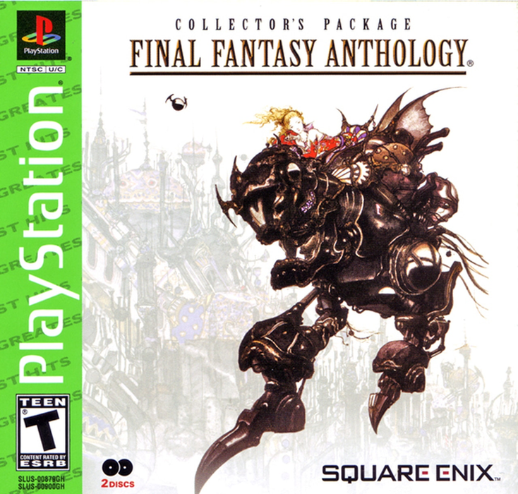 Final Fantasy Anthology - Greatest Hits - Playstation 1 - Sealed