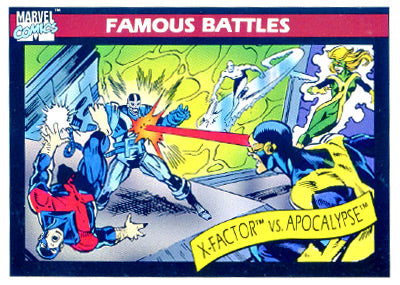 Marvel Universe 1990 - 117 - X-Factor vs. Apocalypse