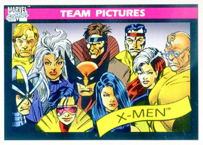 Marvel Universe 1990 - 139 - X-Men