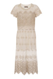 GLORY GOLD LACE DRESS - Darccy & Soma London