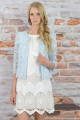 BEADED FLORAL CARDIGAN - Darccy & Soma London