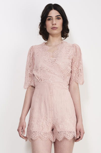 TENDER LACE PLAYSUIT