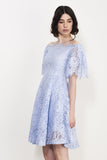SQUARE UP LACE DRESS - Darccy & Soma London