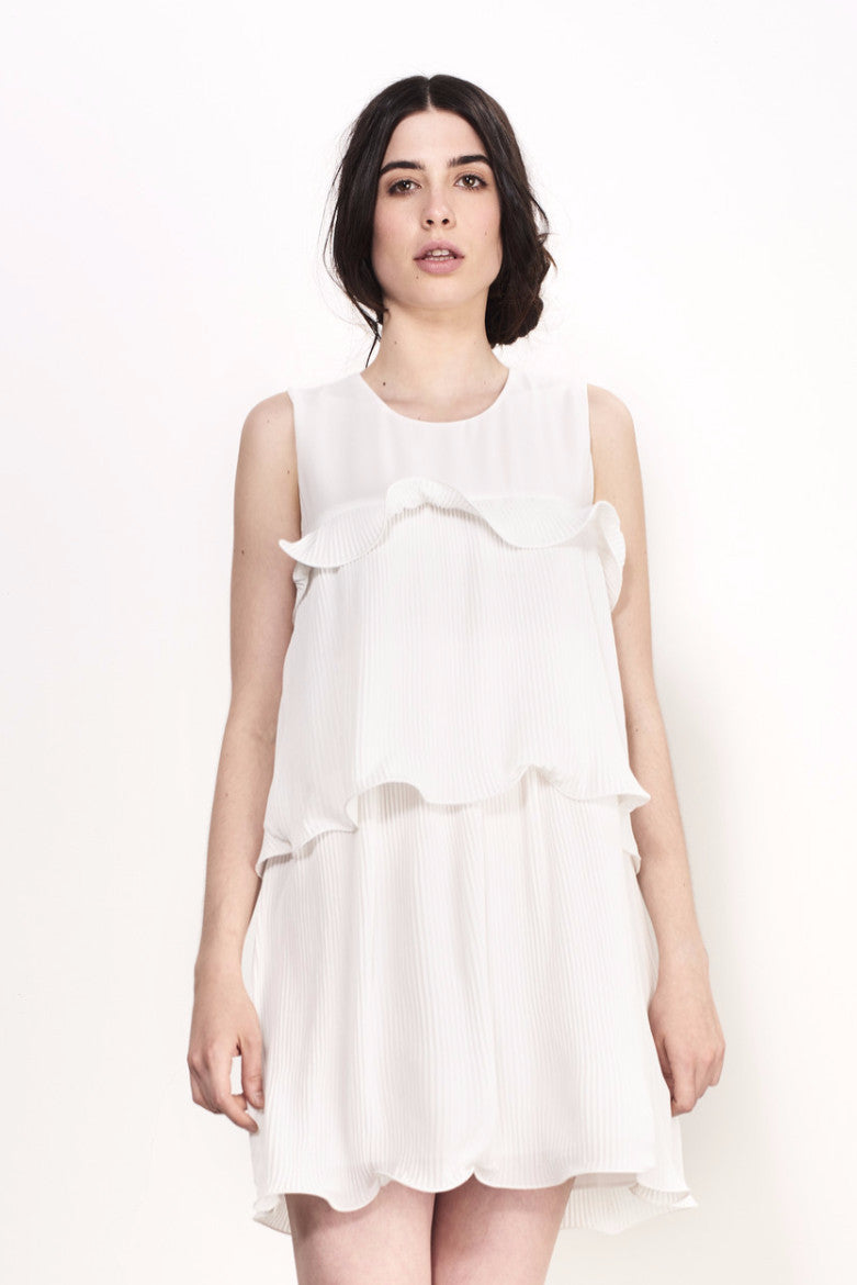 CURLY DRESS - Darccy & Soma London