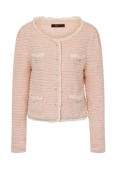 MAX CROPPED JACKET - PINK