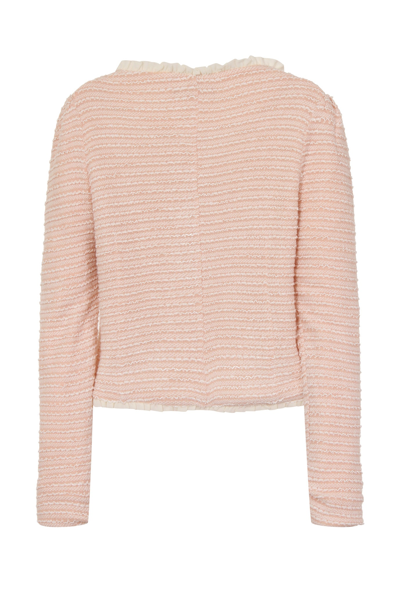 MAX CROPPED JACKET - PINK - Darccy & Soma London