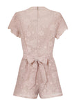 VICTORIA LACE PLAYSUIT