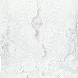 VICTORIA LACE PLAYSUIT - Darccy & Soma London