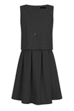 STARRY BEADS DRESS - BLACK